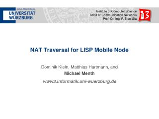 NAT Traversal for LISP Mobile Node