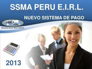 SSMA PERU E.I.R.L .
