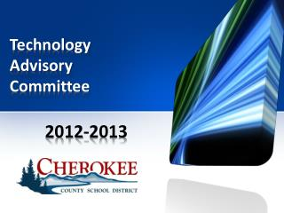 Technology Advisory  Committee