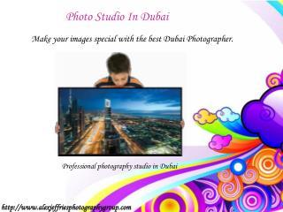 Photography Studio Dubai