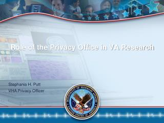 Role of the Privacy Office in VA Research