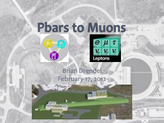 Pbars  to Muons