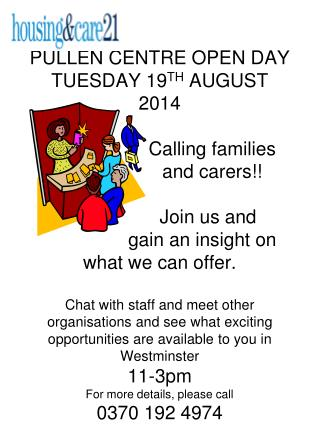 wcc pullen centre open day aug 2014 families and carers