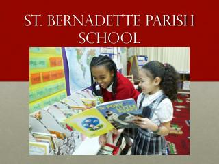 St. Bernadette Parish School