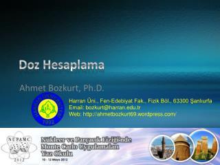 Doz Hesaplama
