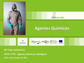 Mª Filipa Castanheira UFCD: 3778 – Agentes Químicos e Biológicos Silves,  18  de  Outubro de  2010
