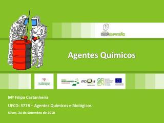 Mª Filipa Castanheira UFCD: 3778 – Agentes Químicos e Biológicos