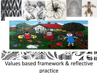 Values  based  framework & reflective practice