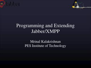 Programming and Extending Jabber