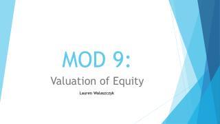 MOD 9: