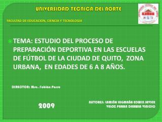 UNIVERSIDAD TECNICA DEL NORTE
