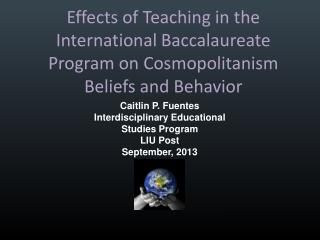 Effects of Teaching in the International Baccalaureate