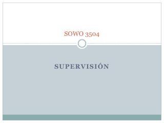 SOWO 3504
