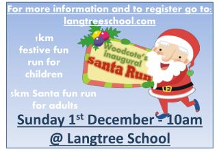 1km  festive fun  run for children