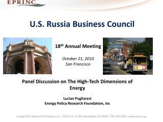U.S. Russia Business Council