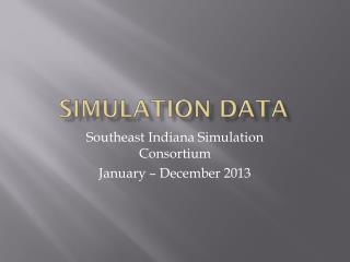 Simulation Data