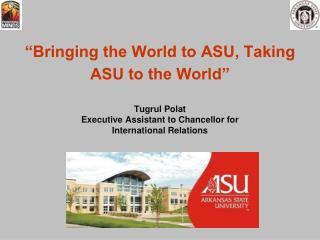 International Student Enrollment  at ASU