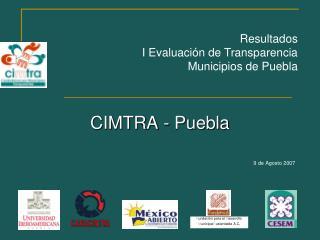 CIMTRA - Puebla 9 de Agosto 2007
