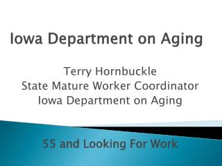 Iowa Department on Aging