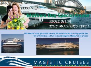 Mothers Day Special Cruises Sydney