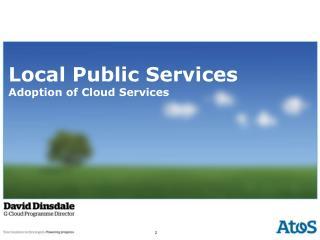 Local Public Services Adoption of Cloud Services