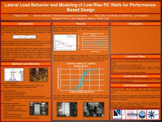 Lateral Load Behavior and Modeling of Low-Rise RC Walls for Performance-Based Design