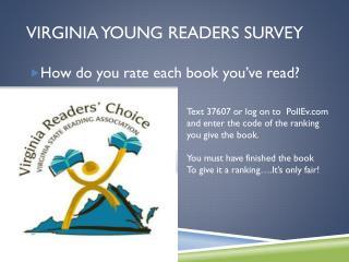 Virginia young readers survey