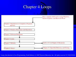 Chapter 4 Loops