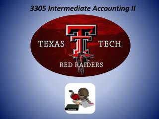 3305 Intermediate Accounting II