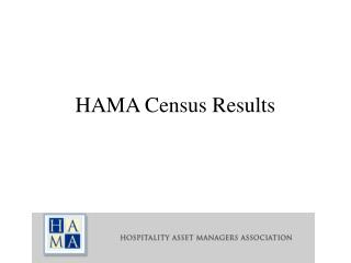 HAMA Census Results