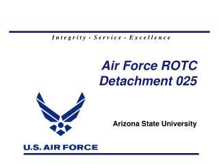 Air Force ROTC Detachment 025