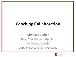 Coaching Collaboration