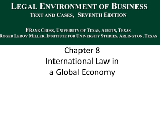 US Antitrust and Extraterritoriality