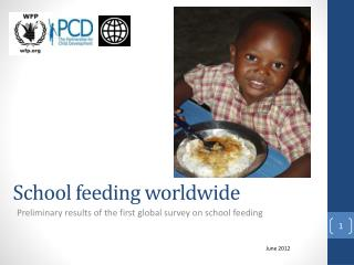School feeding worldwide
