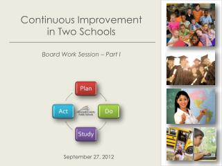 Continuous Improvement  in Two Schools Board Work Session – Part I