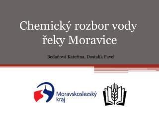 Chemický rozbor vody  řeky Moravice