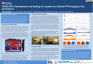 TIDAS-SPU: Development and testing of a system for infrared FTS imaging of the atmosphere