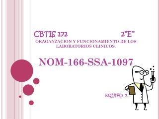 """CBTIS  172                           2""""E"""""""