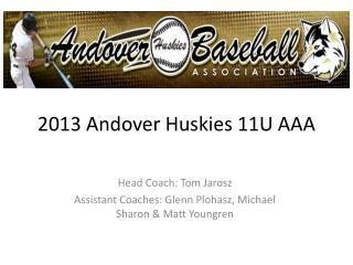 2013 Andover Huskies 11U AAA