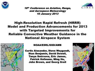 13km Rapid Refresh (RAP) (mesoscale)