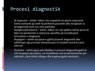 Procesi diagnostik