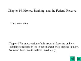 Chapter 14. Money, Banking, and the Federal Reserve