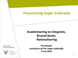 Financiering hoger onderwijs