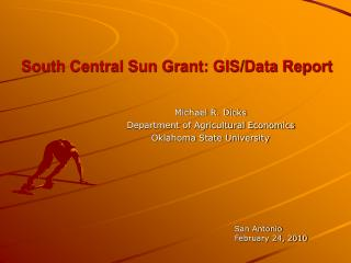 South Central Sun Grant: GIS/Data Report
