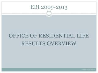 EBI 2009-2013