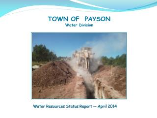 TOWN  OF  PAYSON Water Division
