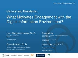 What Motivates Engagement with the Digital Information Environment?