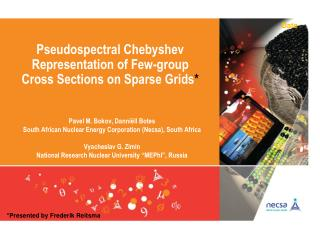 Pseudospectral  Chebyshev Representation of Few-group         Cross Sections on Sparse Grids *