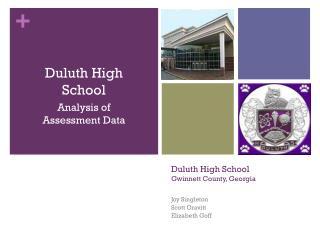 Duluth High School Gwinnett County, Georgia