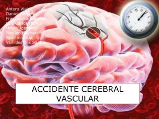 ACCIDENTE  CEREBRAL VASCULAR